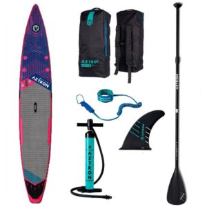 aztron-meteor-race-sup-board-with-accessories-paddle-handpump-leash-bag-fin