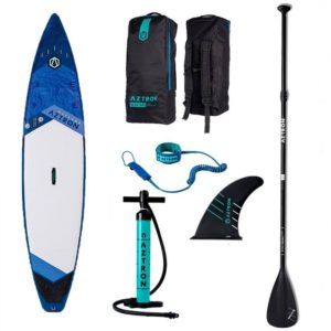 aztron-neptune-touring-sup-board-with-accessories-paddle-handpump-leash-bag-fin