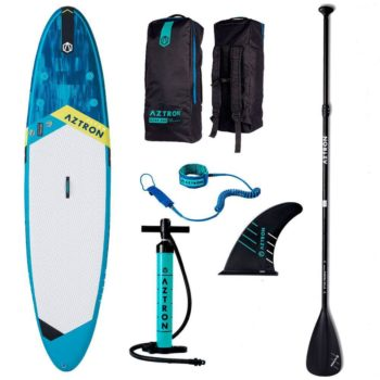 aztron-titan-sup-board-with-accessories-paddle-handpump-leash-bag-fin