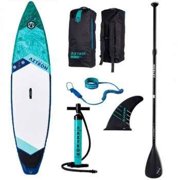aztron-urono-touring-sup-board-with-accessories-paddle-handpump-leash-bag-fin